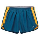 《BROOKS》男款-二件式慢跑短褲3.5吋 波賽頓藍/芒果橘 #BK210559473(S)
