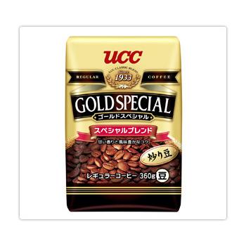 UCC 金質精選綜合咖啡豆360g*6入(箱)