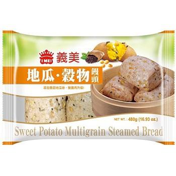 義美 地瓜穀物饅頭(80g*6入)