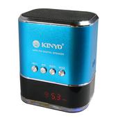 《KINYO》FM讀卡音箱 MPS-377