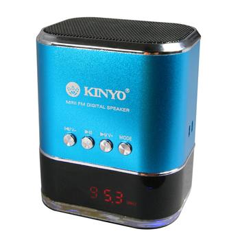 KINYO FM讀卡音箱 MPS-377
