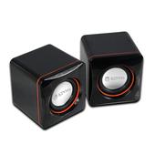 《KINYO》USB迷你小喇叭 US-202(2.0迷你喇叭)