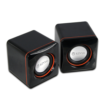 KINYO USB迷你小喇叭 US-202(2.0迷你喇叭)