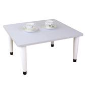 《頂堅》寬60x深60/公分-和室桌/休閒桌/矮桌(素雅白色)三款腳座可選(尖形腳)