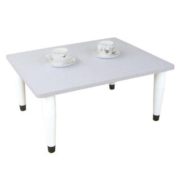 頂堅 寬60x深60/公分-和室桌/休閒桌/矮桌(素雅白色)三款腳座可選(錐形腳)