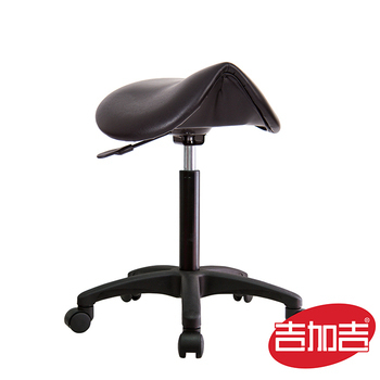 吉加吉 馬鞍型 工作椅TW-T05E (尼龍腳座款)(組合編號)