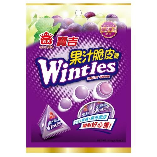 義美 寶吉果汁脆皮糖(葡萄)(135g/包)