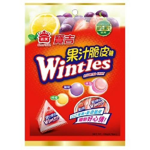 義美 寶吉果汁脆皮糖(綜合水果)(135g/包)