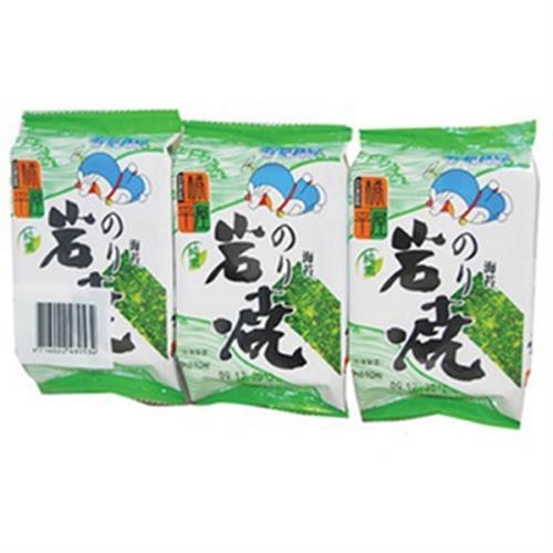 橘平屋 岩燒海苔(原味)(5g±5%*3包入/袋)