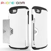 《PhoneFoam》Golf iPhone7 插卡式防震保護殼(白)