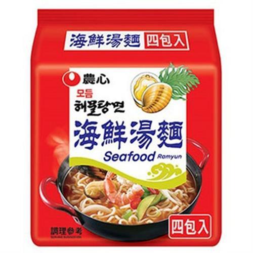 農心 海鮮拉麵(125g x 4包)