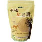 《統一》生機有機紅蔗糖(500g/袋)