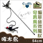 《Play-N-Squeak狂野森林》奇異鳥系列貓草音效魔杖(啄木鳥)