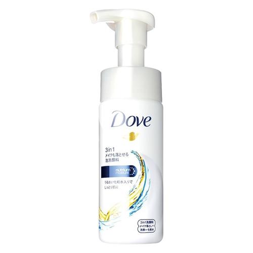 多芬 3合1潤澤卸妝潔面慕絲(135ml)