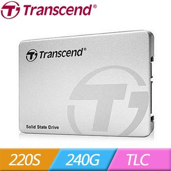 Transcend 創見 2.5吋 220S 240G SATA3 SSD 固態硬碟(220S 120G)