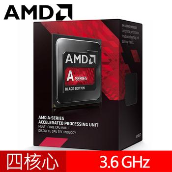 AMD A10-7860K CPU 四核心中央處理器 S2 靜音風扇(A10-7860K)