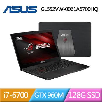 ASUS 華碩 ROG GL552VW-0061A6700HQ 15.6吋電競筆記型電腦(GL552VW-0061A6700HQ)