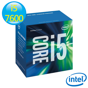 Intel 英特爾 Core i5-7600 CPU 中央處理器(i5-7600)
