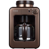 《SIROCA》自動研磨咖啡機- SC-A1210CB(咖啡色)