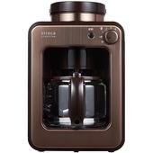 《SIROCA》自動研磨咖啡機- SC-A1210CB(金色)