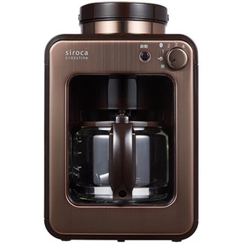 SIROCA 自動研磨咖啡機- SC-A1210CB 金色