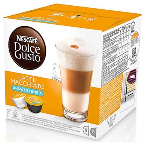 雀巢咖啡 無糖拿鐵咖啡膠囊(16顆/盒)
