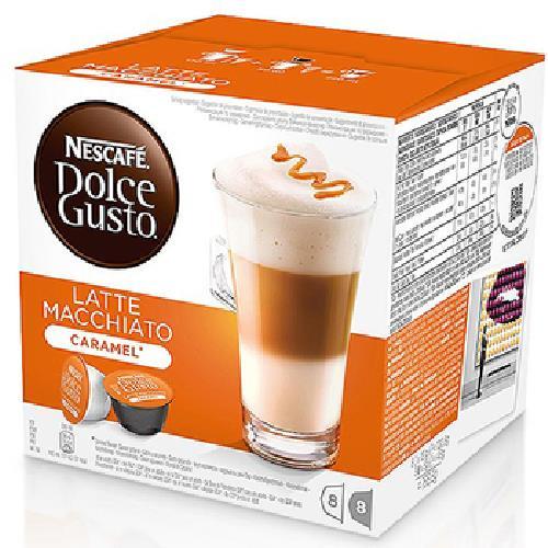 雀巢咖啡 焦糖瑪奇朵咖啡膠囊(16顆/盒)