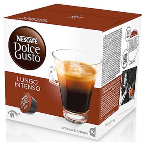 雀巢咖啡 美式濃黑濃烈咖啡膠囊(16顆/盒)
