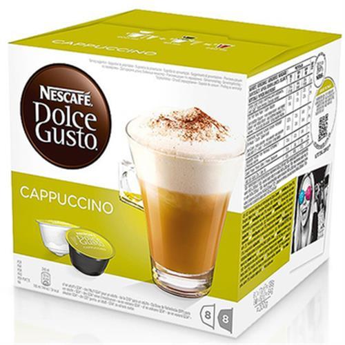 雀巢咖啡 卡布奇諾咖啡膠囊(16顆/盒)