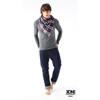 zone protecfel ZONE諾貝爾纖維極地男防護衣(4色任選)+ZONE男內褲(隨機色)(尺寸M-灰色)