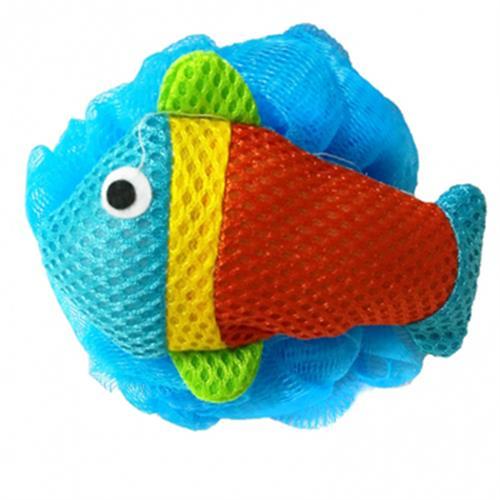 FP 可愛魚造型沐浴球(1入)