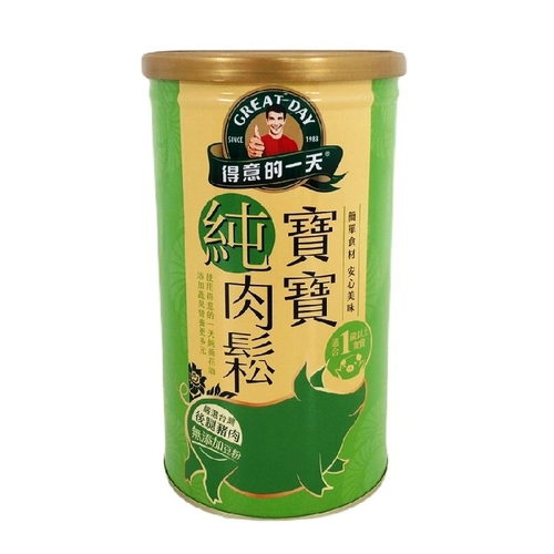 得意的一天 寶寶肉酥香蔬配方(200g/罐)