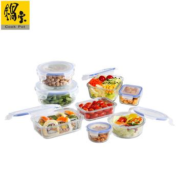 鍋寶 耐熱玻璃保鮮盒夏日悠活組(BVC-008)