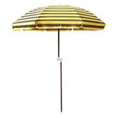 《【大傘王】》露營傘 採木中棒、TC棉布,不導電、防雷擊、戶外休閒露營必備,多段式角度調節(BE-1101)