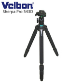 《Velbon》Velbon Sherpa Pro 543D 碳纖維三腳架(含雲台)