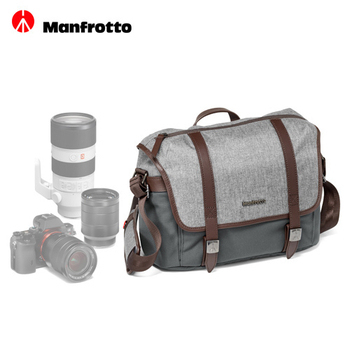 《Manfrotto》Manfrotto 溫莎系列郵差包 S Lifestyle Windsor Messenger S贈桌上型腳架