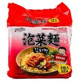 《PALDO》高麗麵-泡菜味(120g*5包/袋)