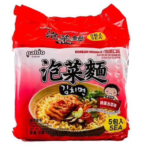 PALDO 高麗麵-泡菜味(120g*5包/袋)