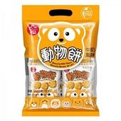 《九福》動物餅(牛奶風味)(200g/包)