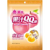 《義美》寶吉果汁QQ糖(水蜜桃)(176g/包)