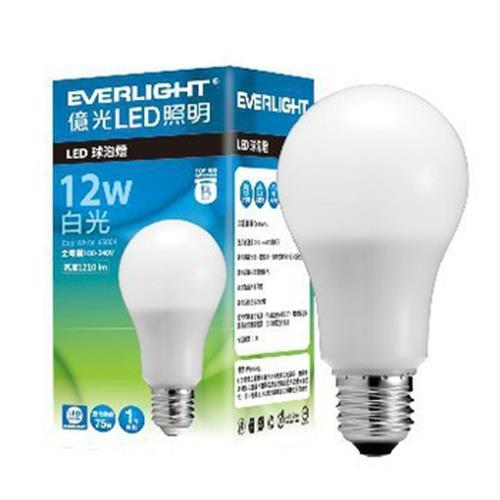 億光12W LED燈泡(白光)