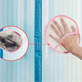 《Bunny》防蚊門簾蚊帳紗窗除塵清潔護手抹布手套(五入)(顏色隨機)