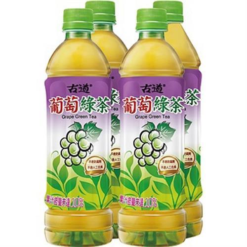 古道 葡萄綠茶(575ml*4瓶/組)