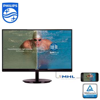 PHILIPS 飛利浦 22型 224E5EDSB/96 LED 液晶螢幕顯示器(224E5EDSB)