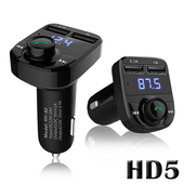 《Gmate》第五代雙USB車用免持藍牙MP3播放器HD5(公司貨)黑色 $499
