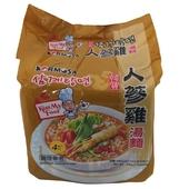 《KORMOSA》人蔘雞湯麵(110g*4包/袋)