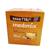 《Medimix》草本檀香美膚皂(3顆/組)
