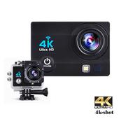 《IS愛思》4K-SHOT 4K高畫質機車行車紀錄運動攝影機(黑色)