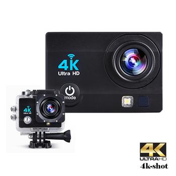 IS愛思 X-SHOT PLUS 4K高畫質機車行車紀錄運動攝影機(黑色)