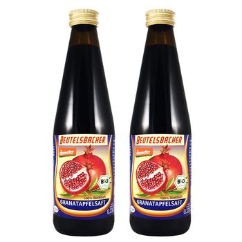德米得 德國demeter有機石榴汁2入(330ml*2入)